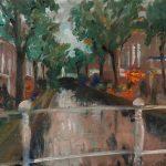 Delft 1, 24 x 30, olieverf op linnen, 2019