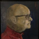 Peter, 30 x 30, olieverf op doek. 2020